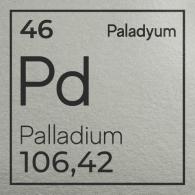 Paladyum Külçe